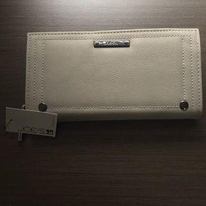 Soft gray Joe's brand wallet.  Brand new.